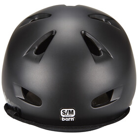 Bern Brentwood Cykelhjälm inkl. Flip Visir svart